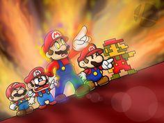 SSB Wii U/3DS: Mega Man Final Smash in Mario Style by SuperLakitu.deviantart.com on @deviantART #Mario #Nintendo