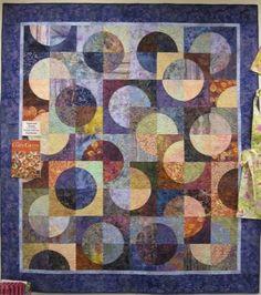 Image result for drunkard path quilt pattern variations