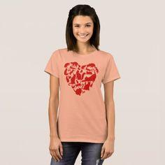 Valentines Day Cat Tshirt Heart Funny Kitty Kitten - Saint Valentine's Day gift idea couple love girlfriend boyfriend design