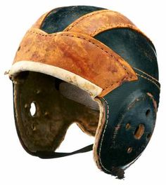 Antique Classic Design Old Leather Football Helmet Tap Shoes, Dance Shoes, Consignment Online, Bicycle Helmet, Rugby, Football Helmets, Riding Helmets, Cap, Antiques