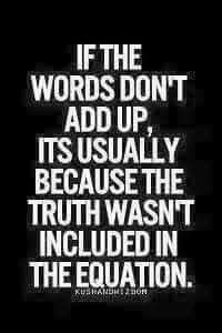 No truth ever - accept that and get the fark out - rerrruuunnnnnnnn