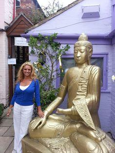 Glastonbury town of psychics n spiritual #spiritual #budha
