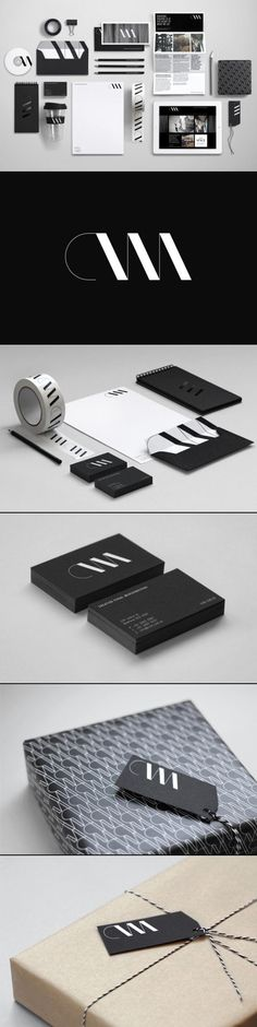 Branding Design. Black & white