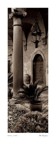 Villa Portico No ITALIAN ART PRINT 1 by Alan Blaustein 24x24 Italy Poster