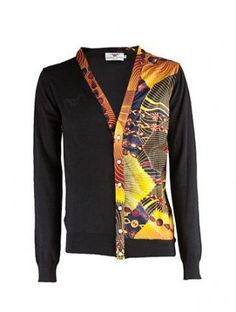 ColourfulMen Mock Neck Solid Long Sleeve Knitted Curvy Sweater Pullover
