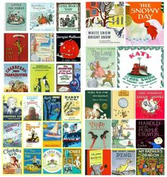 A Top 50 List of classic stories that all kids should read! #kidslit #reading