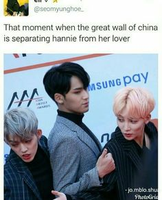 Lol  (btw, in case y'all didn't know, Hannie is Jeonghan)