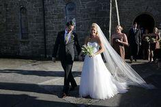 High-School friendship leads to marriage on the West coast of Ireland. West Coast Of Ireland, Real Weddings, Friendship, High School, Marriage, Wedding Dresses, Valentines Day Weddings, Bridal Dresses, Alon Livne Wedding Dresses