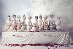 Food Fight - Marie Antoinette style (Thank you Acid Girls).