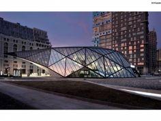Fuel Station + McDonalds - Khmaladze Architects
