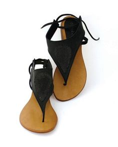 Cocobelle Paris Sandal in Black