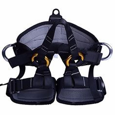 LOPEZ Outdoor Professional Rock Climbing Safety Belt Seat Belt Bust Waist Leggings for Mountaineering Rappelling Equipment Aerial Work - Brought to you by Avarsha.com