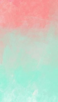Pastel Grunge Smushed Paint Splatter iPhone Wallpaper. Abstract - watercolor…