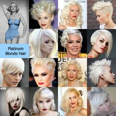 PLATINUM BLONDE HAIR inspiration by Rock your Locks     http://www.facebook.com/pages/Rock-your-Locks/133025596754055