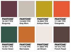 Lenzing Fashion Color Trends Spring/Summer 2018 - Latitude Zero Color Card