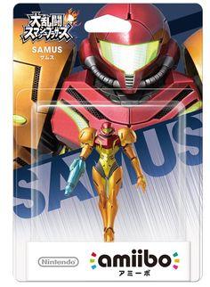 Nintendo amiibo Super Smash Bros. Samus 3DS Wii U Figure from Japan F/S #Nintendo