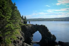 Hole in the Wall---Grand Manan Island, Canada