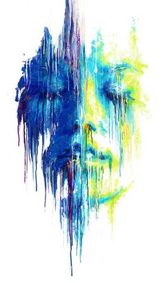 dripping color | the colors caught by eye and i love it the concept of the drips ...