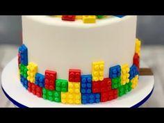 Cake Lego, Lego Torte, Bolo Lego, Lego Superhero Cake, Lego Movie Cake, Lego Batman, Lego Ninjago, Lego Themed Party, Lego Birthday Party