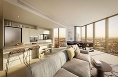 FloodSlicer is Australia's premier rendering and animation company and a world leader in pre-built visualisations Furniture, Home, Residential, Living Spaces, Tower Apartment, Apartment, Interior Design, Home And Living, Residential Interior