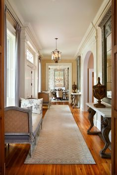 Winter Park Mediterranean.  Looks like another lateral entry hallway.  I love how this firm does this!