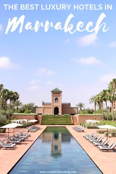 Morocco Travel: Best Luxury Hotels & Riads in Marrakech Morocco Travel, Africa Travel, Vietnam Travel, Riads In Marrakech, Marrakech Hotels, Visit Marrakech, Marrakech Morocco, Casablanca, Beste Hotels