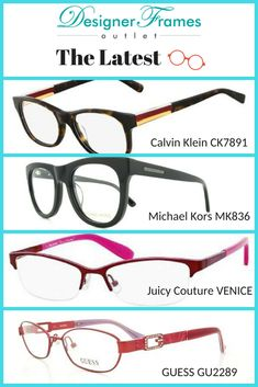 491111ff47 Calvin Klein CK7891 Eyeglass Frames. Michael Kors MK836 Eyeglass Frames.  Juicy Couture Venice Eyeglass