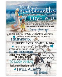 That's Love, Great Love, Love Gifts, Great Gifts, Beautiful Dream, Forever Love, Love You More Than, Grandchildren
