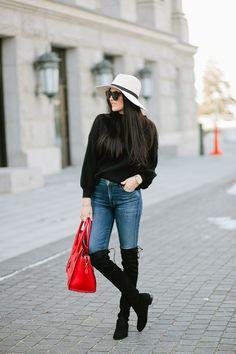 e9f244ae3f8d  roressclothes clothing ideas  women fashion black sweater