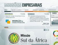 Missões Empresariais, work done for the Ministry of Development, Industry and Foreign Trade