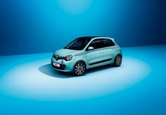 The new #Renault #Twingo in light blue