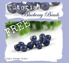 Blueberry Beads Tutorial by lagoadesigns