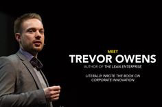 "Trevor Owens, author of ""The Lean Enterprise"" has just been announced as a Keynote Speaker at EntreFest, happening May 20-22, 2015 in Iowa City. See you there!"