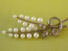 GENUINE MIKIMOTO PEARL Sterling Silver by EternalElementsEtsy