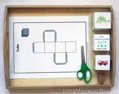 Montessori Monday - Math Activities Using Cubes and Free Printables