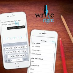 WriteRight app makes it easy to amp up your writing with the perfect synonyms on the go. Happy #NationalThesaurusDay! #write #synonym #thesaurus #writerlife #apps