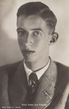 https://flic.kr/p/dTFzYA | Prinz Oskar von Preussen 1915-1939