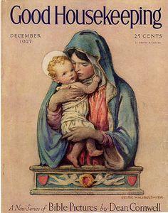 Vintage Christmas Magazine ~ Good Housekeeping ©1927