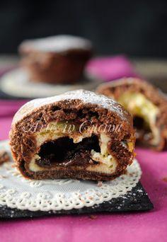 Tortine cuore di mascarpone e cioccolato vickyart arte in cucina