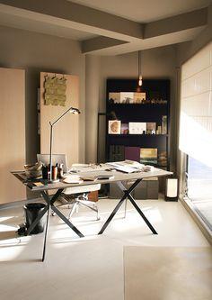 Elisa Bally interior designer st Barth  office