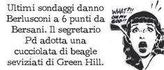 POSTilla 57: Sondaggi - #Berlusconi a 6 punti da #Bersani