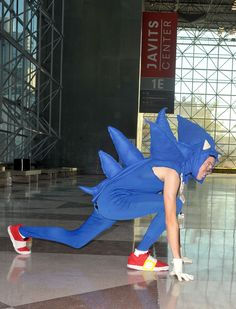 Sonic the Hedgehog costume from NYC Comic-Con