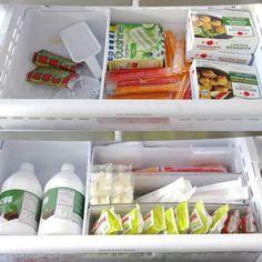 colagem-gaveta-da-geladeira-organizada-antes-e-depois