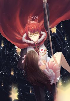 """""""Ah, look who's here to save me! It's God 707!!!""""  <3. I'll never leave you Seven!!!"""