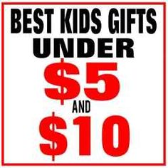 Over 50 of the Best Kids Gifts Under $5 and $10 on Amazon and ebay! all the hours of searching done for you!!