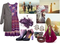 """Purple Bohemian"" by ila-yaseen on Polyvore"