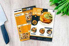 Food menu template food od menu canvas template keto food | Etsy Recipe Book Templates, Food Menu Template, Food Menu Design, Restaurant Menu Design, Food Truck Menu, Seafood Menu, Food Journal, Menu Cards, Keto Recipes