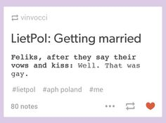Hetalia - LietPol getting married xD