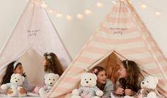 Festa do pijama com cabaninhas - Just Real Moms