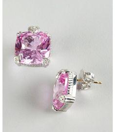 68b89b391 Judith Ripka Pink Sapphire Earrings . Pink Sapphire Earrings, Pink  Diamonds, Judith Ripka,